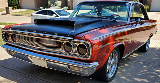 1965 Dodge Coronet 440 By George Marquise