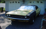1970 Dodge Challenger Convertible By Phillip Haramia