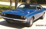 1970 Dodge Challenger R/T SE By Don Geiger
