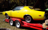 1972 Dodge Charger Rallye By William Ruggiero
