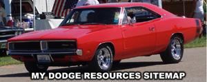 My Dodge Sitemap